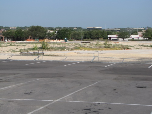 Future home of Wal-Mart small