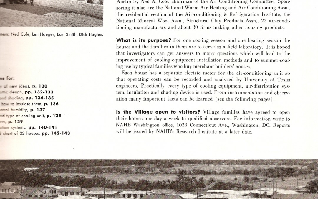 How Allandale Pioneered Central Air Conditioning