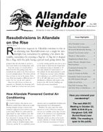 October 09 newsletter cover