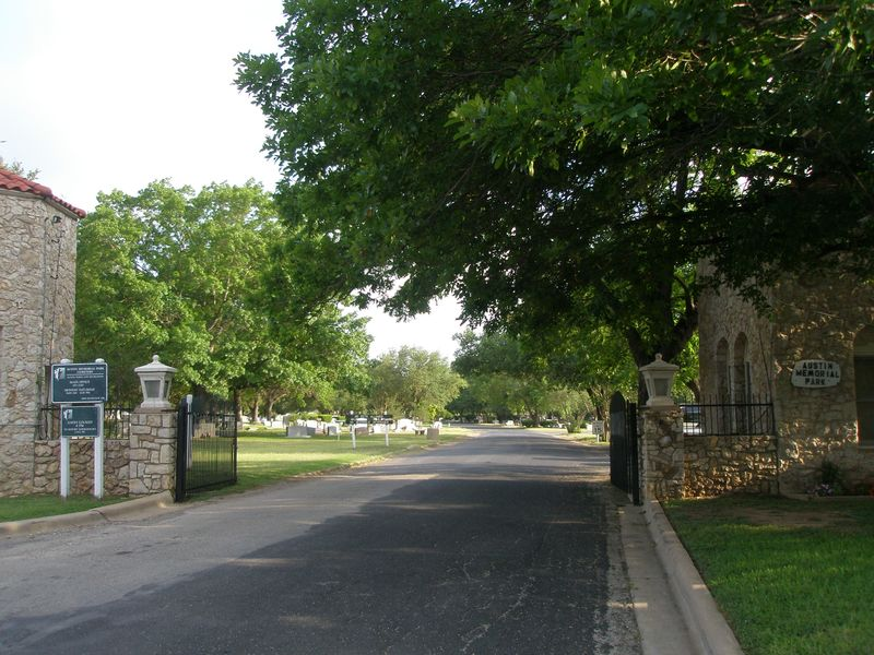 Austin Memorial Park Cemetery Historic Dedication Ceremony – This Saturday