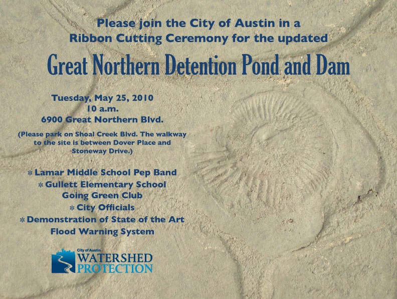 May 25th, Great Northern Pond dedication