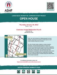 Lamar burnet study open house