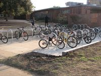 Lamar bike rack