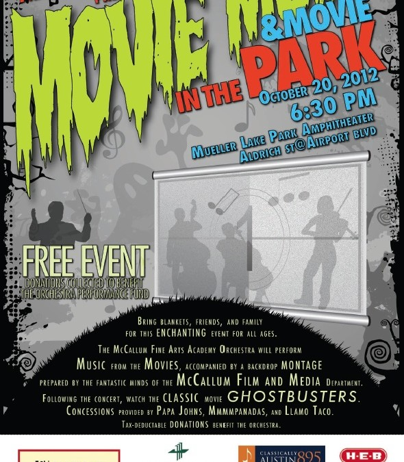 Movie Music in the Park III, The Halloween Edition