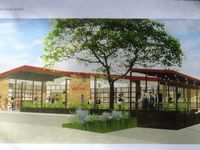 Sketch of proposed Little Woodrow's on Burnet Rd